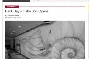 Back Bay's Ostra Soft Opens
