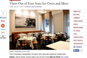 Three Out of Four Stars for Ostra and More